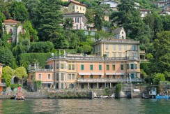 Lake Como Blevio Luxury Apartment Front Lake