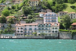 Lake Como Musso Apartment Directly On the Lake with Pool