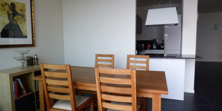 Living room in San Siro apartment Lake Como
