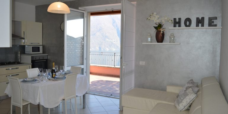 Apartment San Siro with Lake Como view
