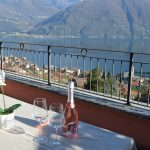 Apartment San Siro with Lake Como view and pool