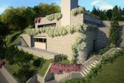 Lake Como Menaggio Detached Stone Villa with Lake View