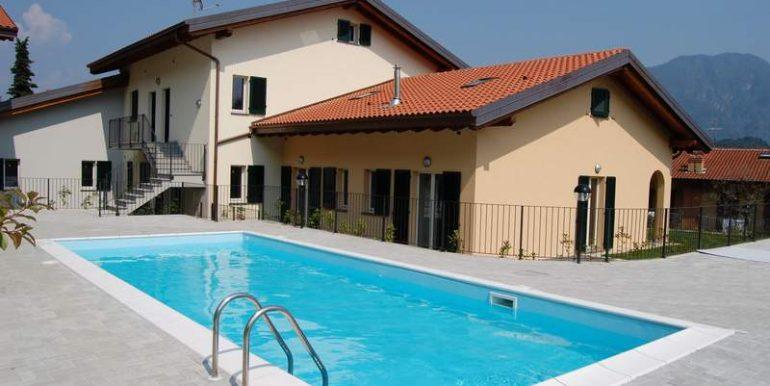 Apartment Residence Tremezzina swimming pool