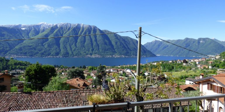 Lenno apartment with garden and lake Como view