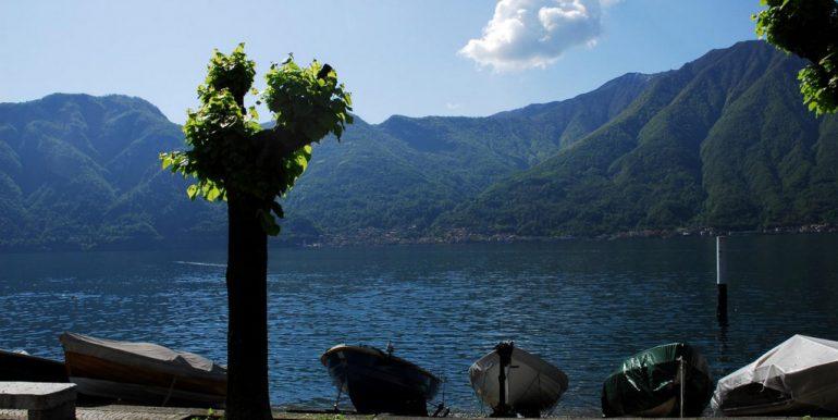 Boats in Lake Como