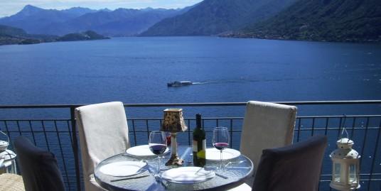 Lake Como Argegno Apartment Dominating the Lake