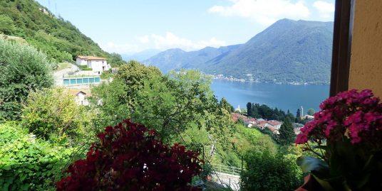 Lake Como Argegno Apartment with lake view