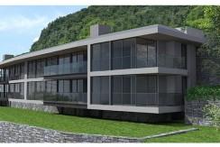 Lake Como Carate Urio Residence with Modern Design and Swimming Pool