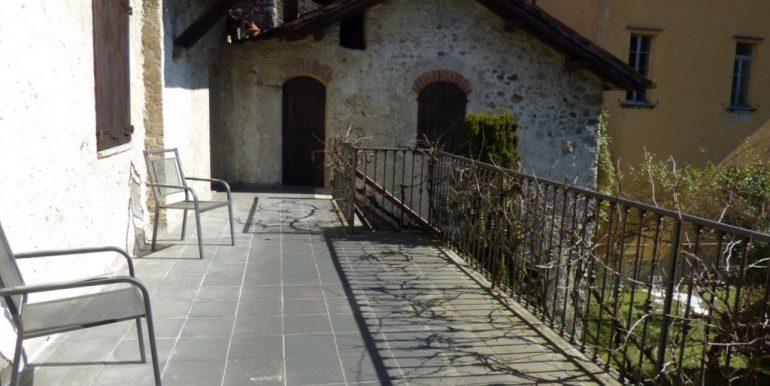Period House Menaggio - terrace