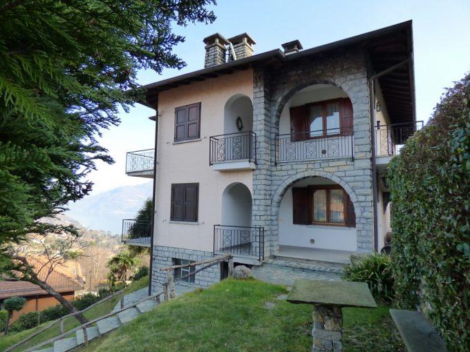 House Menaggio with Lake Como view