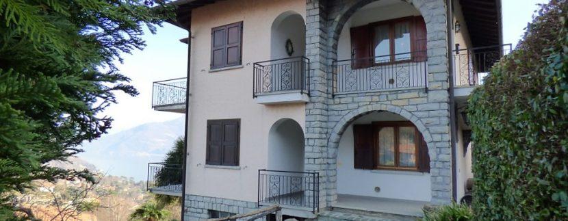 House Menaggio with Lake Como view -  garden