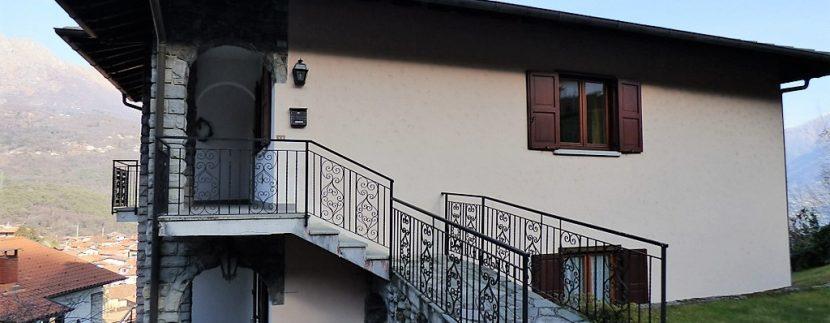 House Menaggio with Lake Como view -  house