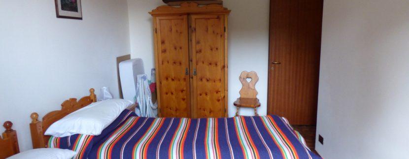 House Menaggio with Lake Como view -  bedroom