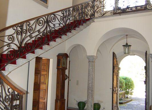 staircase in villa Griante - Lake Como