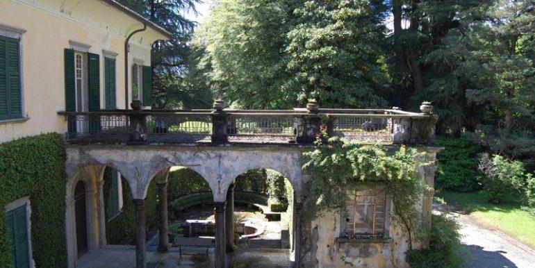 Lake Como Griante period villa - Garden