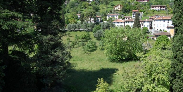 Panoramic view from property in Griante - Lake Como