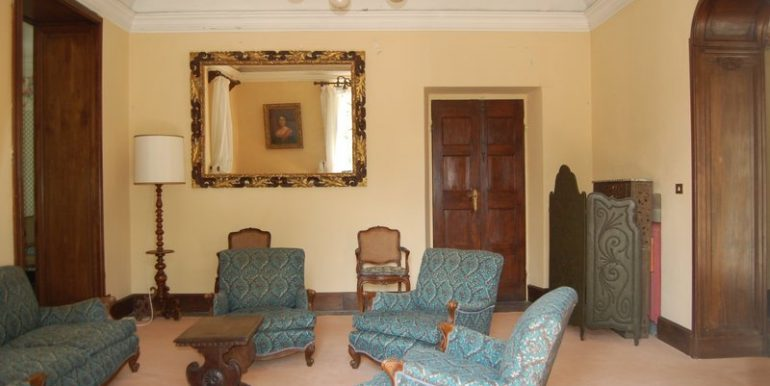 Living room in villa Griante - Lake Como - Lombardy