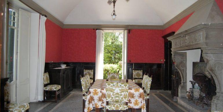 Living room in villa in Griante village - Lake Como