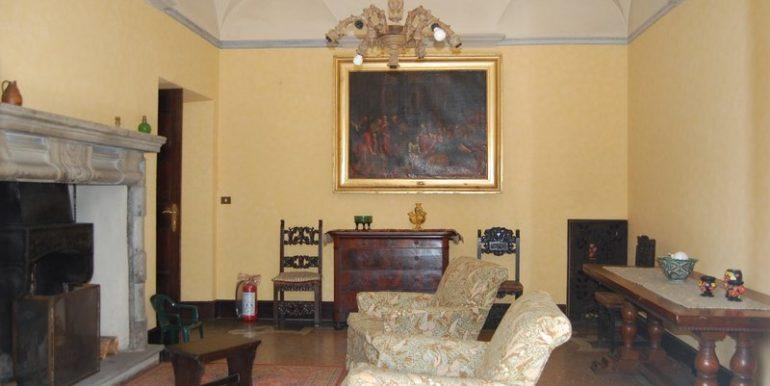 Lake Como villa - Living room in villa Griante