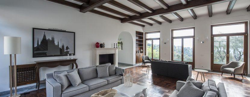 Tremezzo detached villa with garden and lake view