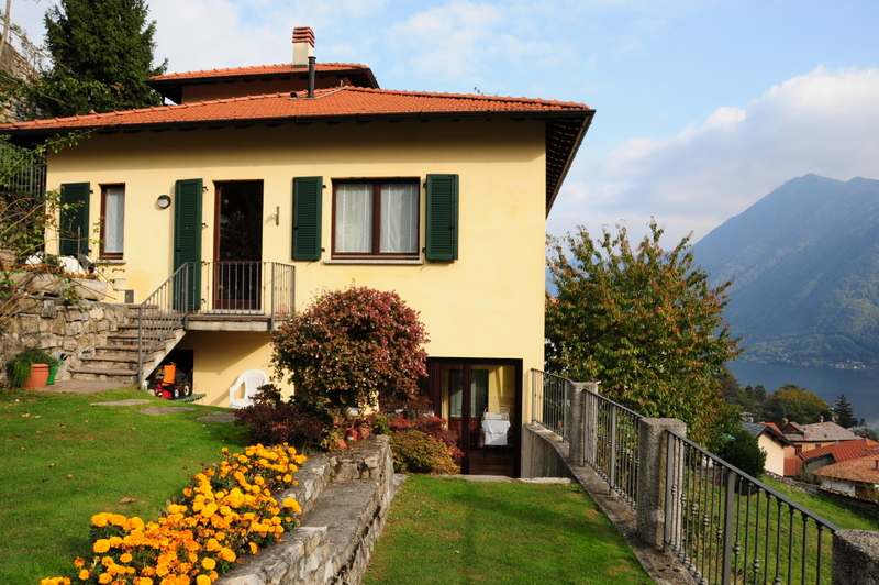 Lake Como Argegno House with Garden