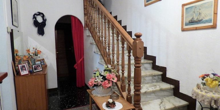 Lake Como Brienno House - staircase