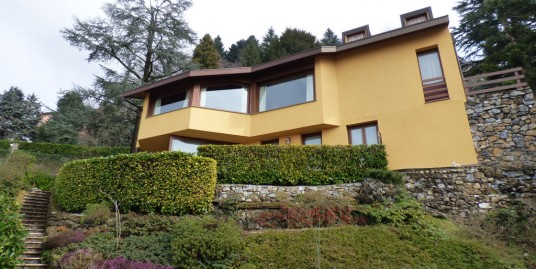 Lake Como Brunate Modern Villa with Panoramic View