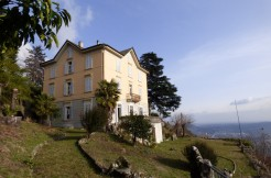 Period Luxury Villa Dominating Lake Como Brunate with lake view