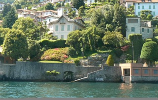 Lake Como Cernobbio Neighborhood Periodic Villa Front Lake