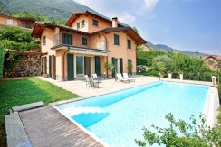 Lake Como Luxury Villa with Pool and Lake View