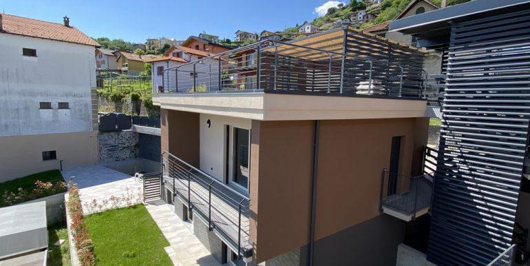 Modern apartments Lake Como Pianello del Lario - esterno