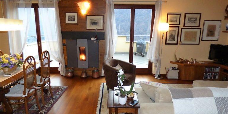 Living room in Argegno's apartment - Lake Como