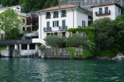 Lake Como Brienno Villa Directly on the Lake with Dock