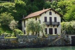 Lake Como Laglio Villa Directly On the Lake with Dock