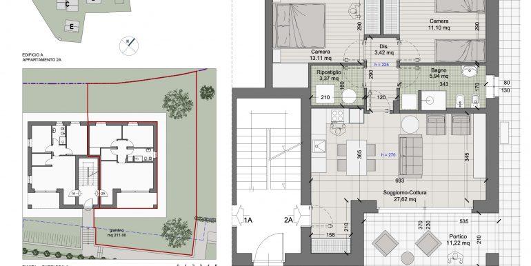 Lake Como Tremezzina New Apartments with Pool - plans