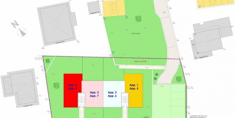 Lake Como  - Residence floor plans