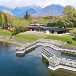 Villas Front Lake Como Colico with Boathouse - lake view