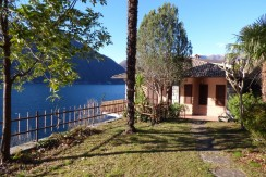 Lake Como Nesso Detached House Front Lake Sunny location