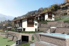 Apartments Domaso Residence with Swimming Pool and Garden