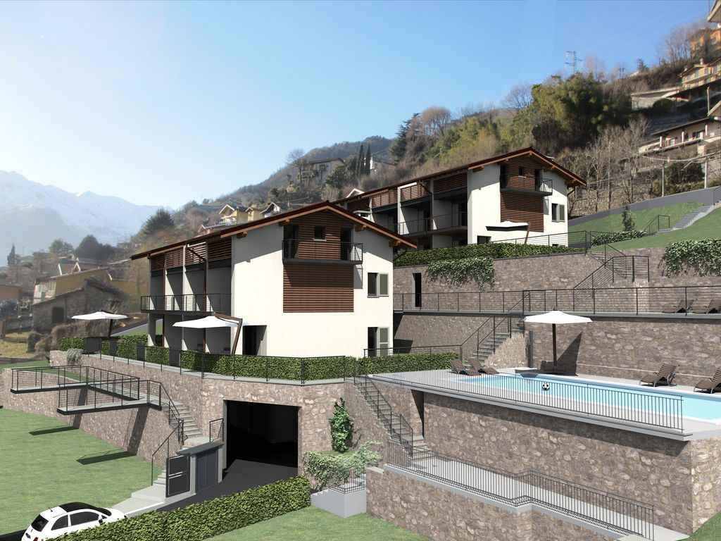 Apartments Domaso Residence with Swimming Pool