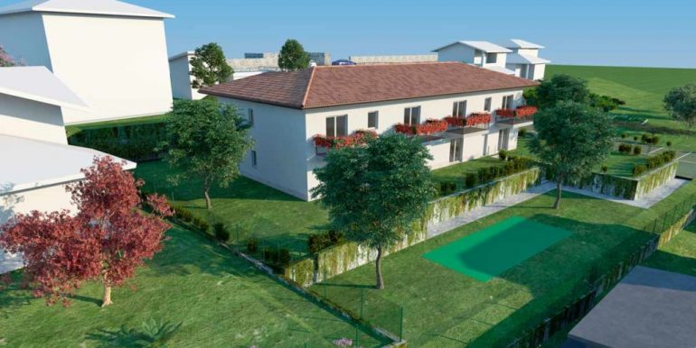 Ossuccio Apartments with swimming pool and lake view