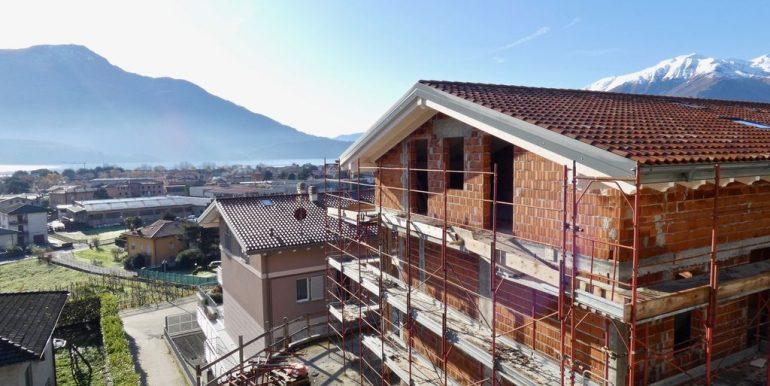 Apartments Domaso lake view