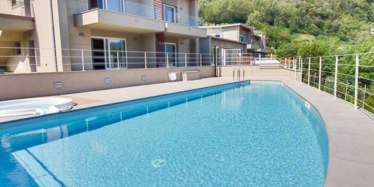 Apartment Lake Como Gera Lario  - pool