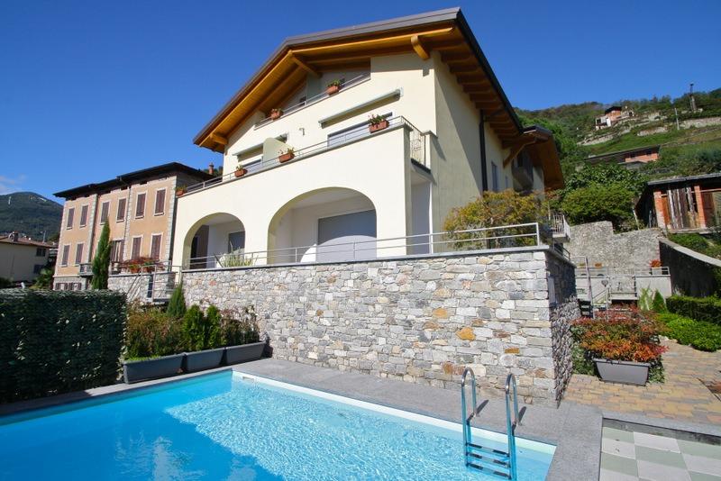 Lake Como Domaso Residence with Swimming pool
