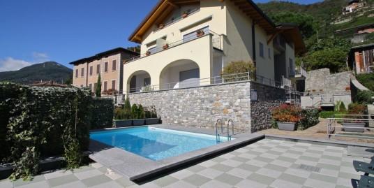 Lake Como Domaso Apartment Lake View and Pool