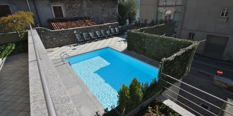 Lake Como Domaso Apartment Lake View and Pool