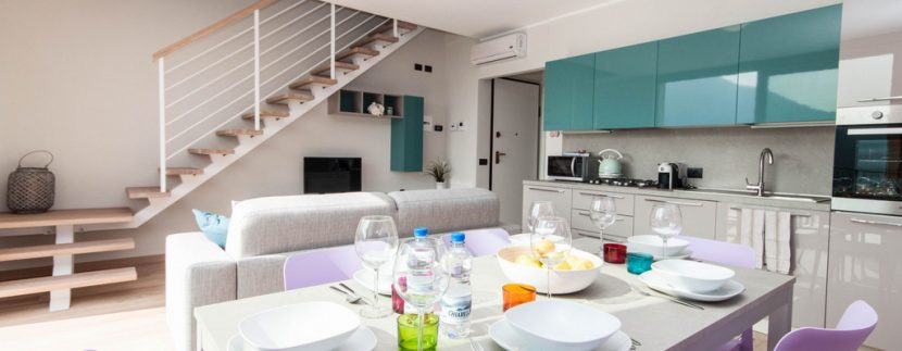 Apartment Tremezzina with Lake view - Living room