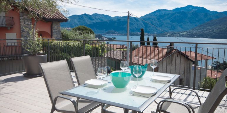 Apartment Tremezzina with Lake view and Swimming pool -  terrace and lake view
