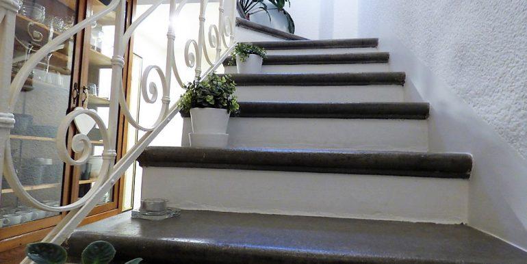 Moltrasio Villa with Lake Como - Staircase