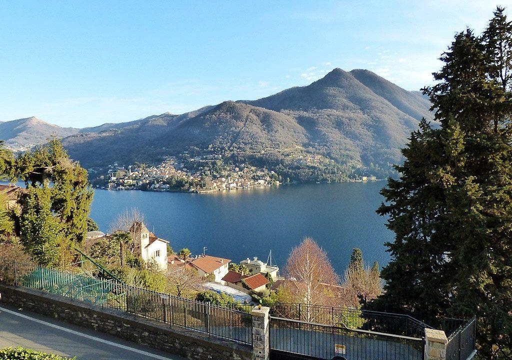 Moltrasio Villa with Lake Como view and garden